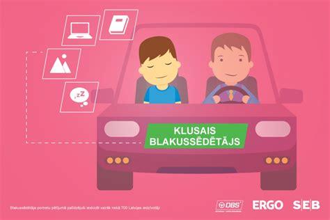 Pētījumā noskaidrots, kādi ir šoferu blakussēdētāji Latvijā