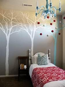 Interior creative diy wall painting expressing artistic