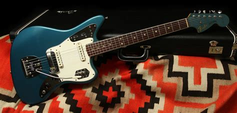 Blue Fender Jaguar by 1966 Fender Jaguar Quot Lake Placid Blue Quot Rumble Seat