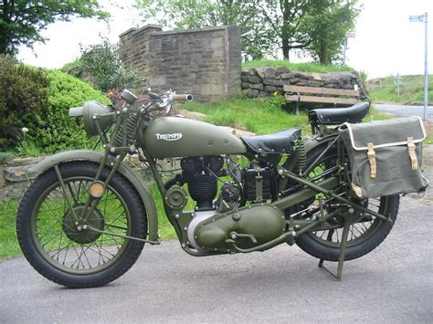 Khaki Wwii Motorcycle Panniers