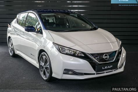 nissan leaf launched  malaysia  rmk