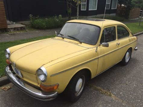 1973 Vw Type Iii Fastback Fuel Injected For Sale