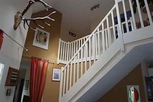 ophreycom couleur peinture hall escalier prelevement With beautiful peindre un escalier en blanc 11 cage escalier et hall dentree