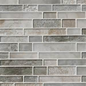 kitchen backsplash travertine savoy interlocking pattern 8mm crystallized glass mosaic tile
