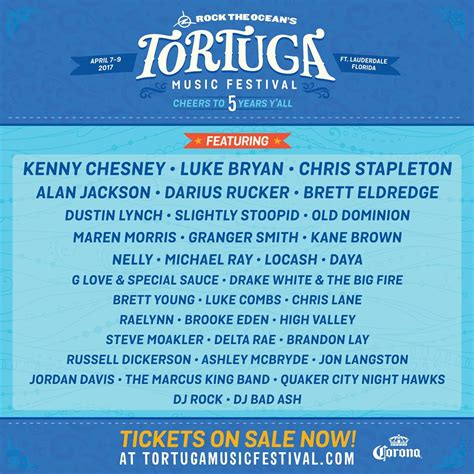country fan fest 2017 lineup tortuga music festival lineup announced for 2017