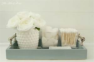 Remodelaholic awesome organizing ideas for your whole for Bathroom tray