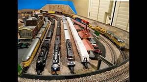 Model Railroad Shelf Layout Diagrams