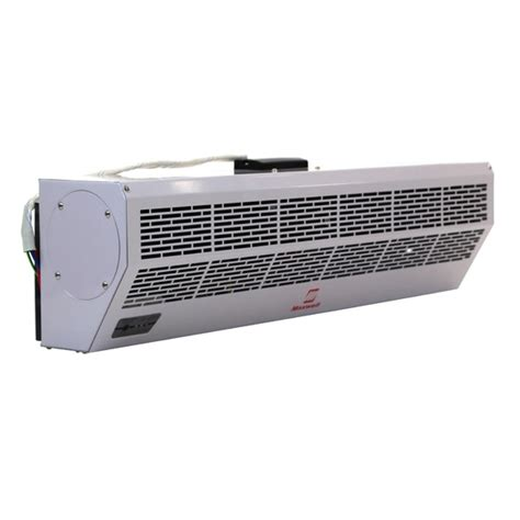 36 inch maxwell air curtain electric heat remote