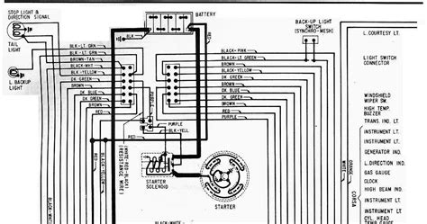 Chevrolet Electrical Diagram by 1965 Chevrolet Corvair Electrical Wiring Diagram All