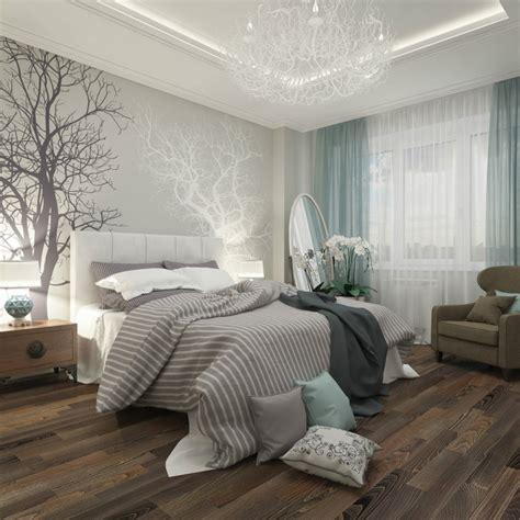 schlafzimmer wand ideen weiss braun ideen schlafzimmer gestaltung grau weiß wandgestaltung fotomotive bäume home decorating diy