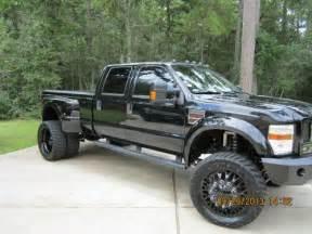 Custom Lifted 4x4 Ford Dually Truck