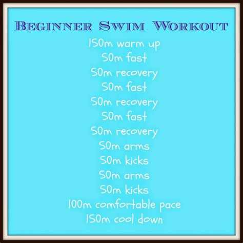 Beginners Triathlon Swimming Workout The Runner Beans