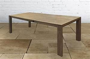 Tavolo allungabile in legno massello 200 287 cm tavoli a for Tavolo in legno massello allungabile