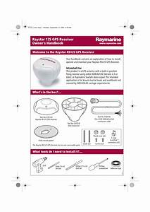 Pdf Manual For Raymarine Gps C80