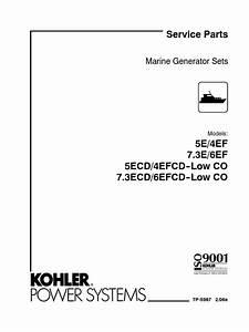 Kohler 5e Parts List