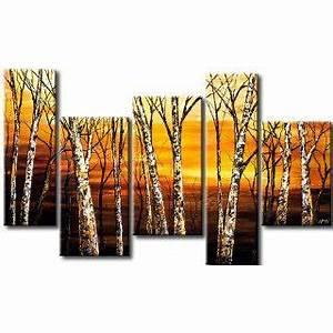 Leinwand 5 Teilig : 200x92 riesen format bild auf leinwand 4 teilig abstrakt on popscreen ~ Whattoseeinmadrid.com Haus und Dekorationen