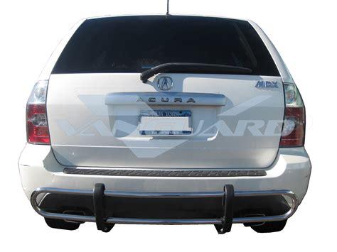 vanguard   acura mdx rear bull bar bumper protector