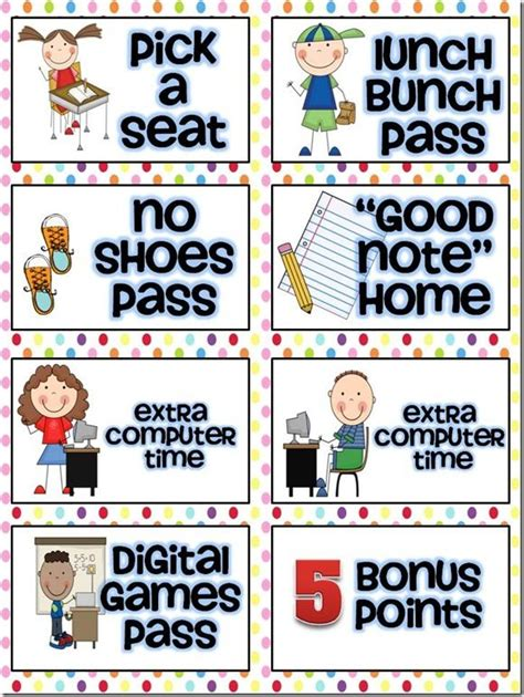 Best 25+ Classroom Coupons Free Ideas On Pinterest  Classroom Reward Coupons, Classroom Rewards
