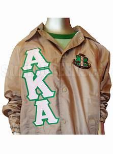 aka windbreaker nphc pinterest crests tans and jackets With custom greek letter jackets