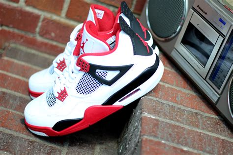 Air Jordan 4 Fire Red At Social Status Sneakerfiles