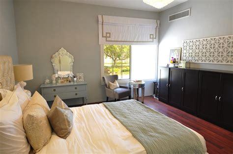 arctic gray transitional bedroom benjamin