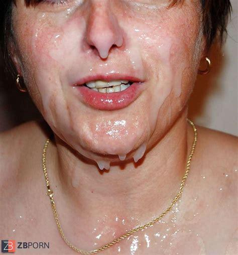 More Mature Facials Zb Porn