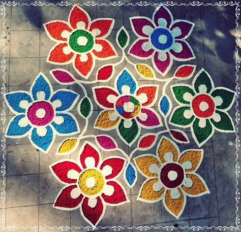 images  rangoli designs  pinterest