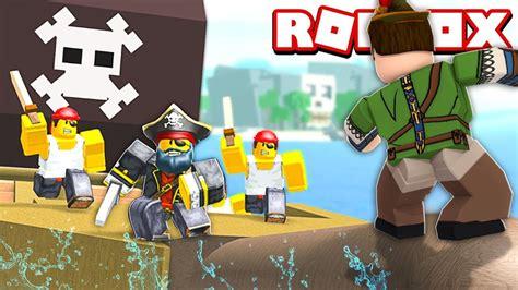 VIRAMOS PIRATAS NO ROBLOX!! (Pirate Simulator ☠️) - YouTube
