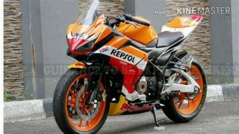 Modif Cbr 150 by Modif Motor Honda Cbr 150 Repsol Kumpulan Modifikasi
