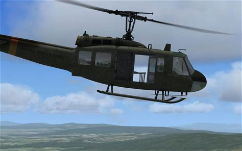 Bell Uh 1 Huey For Fsx By Nemeth Designs