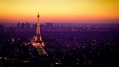 Paris France Night Tower Wallpapers Eiffel Backgrounds