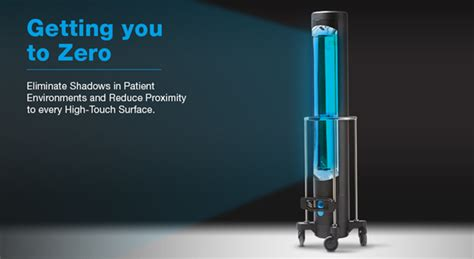 Hard Surface Hospital UV Disinfection System from Surfacide