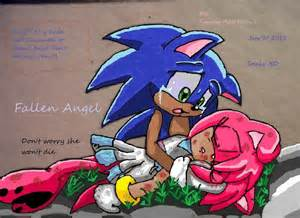 Sonic Amy Dies and Cries