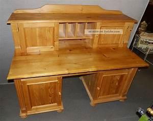Schreibtisch Mit Aufsatz : schreibtisch weichholz mit aufsatz aufbau tisch sekret r ~ Orissabook.com Haus und Dekorationen