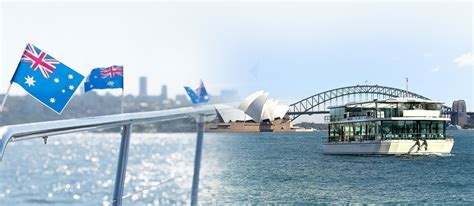 Glass Boat Sydney Harbour Cruise by Premium Australia Day Glass Boat Lunch Cruise On Sydney