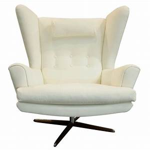 Danish, Modern, Wingback, Chair, With, Rosewood, Base, At, 1stdibs