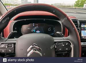 Instruments On The Citroen C5 Aircross As On A Test Drive