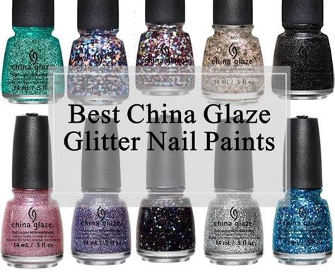 china glaze glitter nail polishes reviews swatches