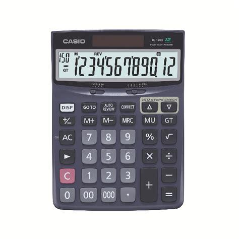 casio desktop dj 120d casio dj 120d desktop calculator cs18596 desk calculator