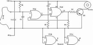 Wire Loop Alarm - Control Circuit