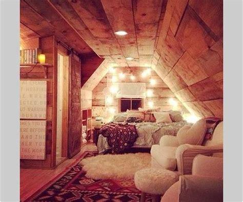cozy  home comfy bedroom attic