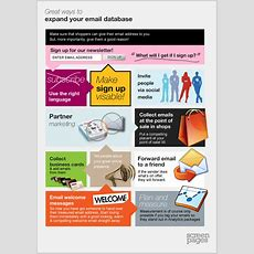 Email Marketing 20 Great Ways To Expand Your Email Database  Screen Pages