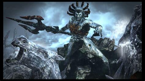 Poseidon God Of War Iii Remasterizado God Of War War God