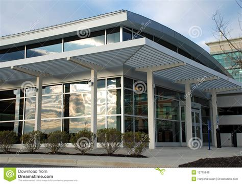 modern office building storefront royalty  stock image