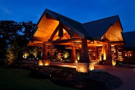 log cabin awesome traditional exterior dallas by