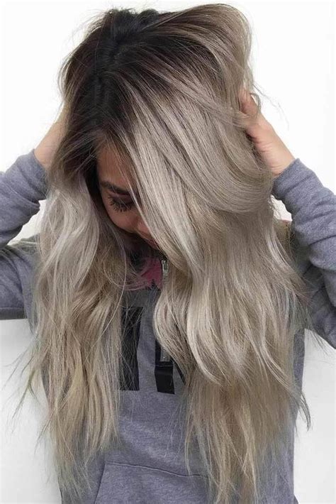 stunning ash blonde hair color