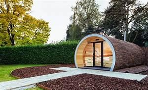 Gartensauna Mit Dusche : luxus gartensauna relaxpipe big optirelax ~ Whattoseeinmadrid.com Haus und Dekorationen
