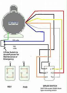 I Am Trying To Wire Up A Emerson Cap Start  U0026 Run 1 5 Hp Ccw  Cw 220v Single Phase Motor To A