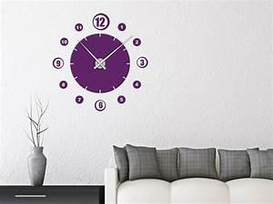 Retro Uhren Wand : wandtattoo uhr retro zahlen wanduhr wandtattoo de ~ Whattoseeinmadrid.com Haus und Dekorationen