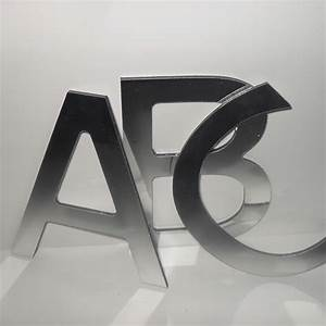 250mm flat cut stainless steel letters uk sign warehouse With flat cut metal letters
